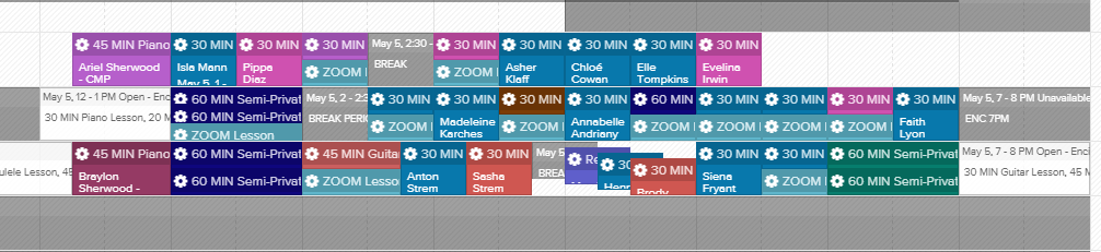 leading-note-schedule