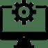 computer gear icon