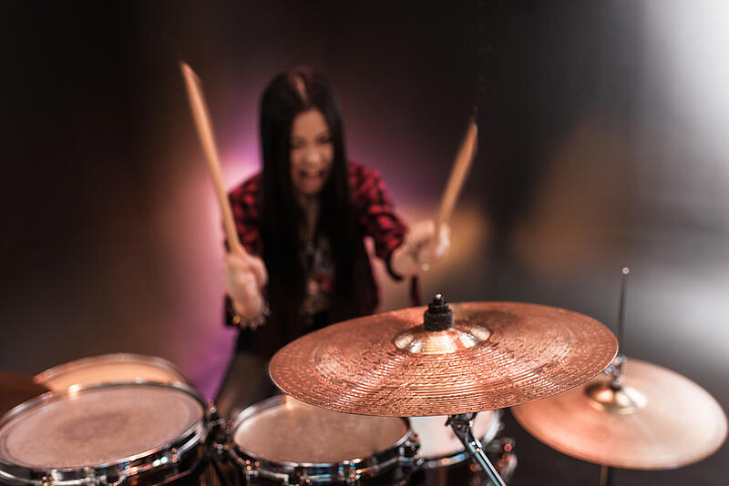 drummer-girl