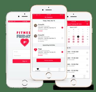 custom branded app for scheduling