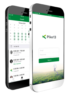 Pike13 Scheduling client app