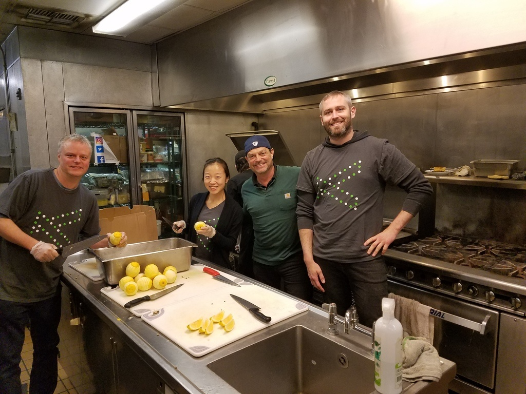 seattle company performing community service