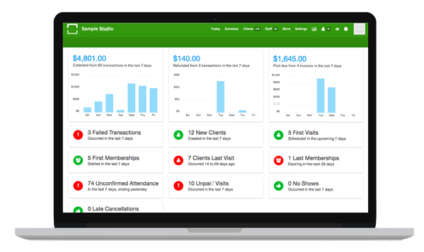 automated billing software reporting
