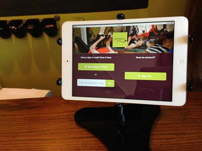 yoga studio check-in kiosk software