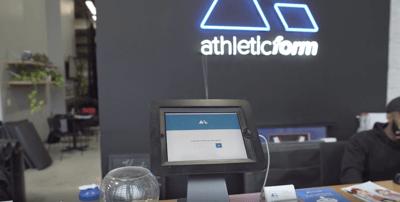 athletic form lobby