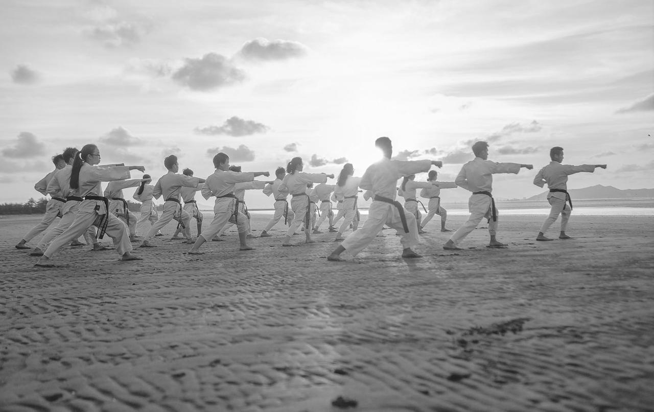 karate-beach